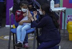 Chile inicia la vacunación contra el coronavirus en las escuelas de niños de 6 a 11 años