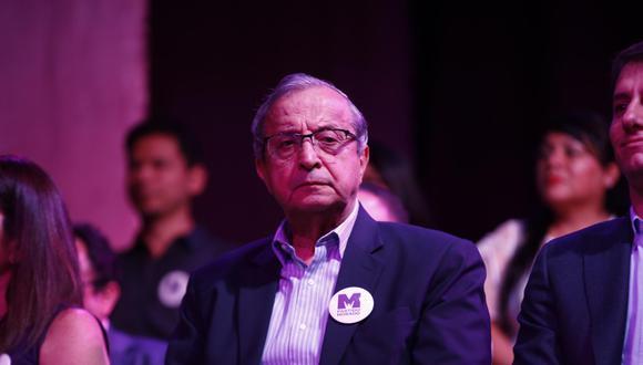 Daniel Mora deseó el mayor de los éxitos a sus excolegas partidarios en el Legislativo. (Foto: El Comercio)
