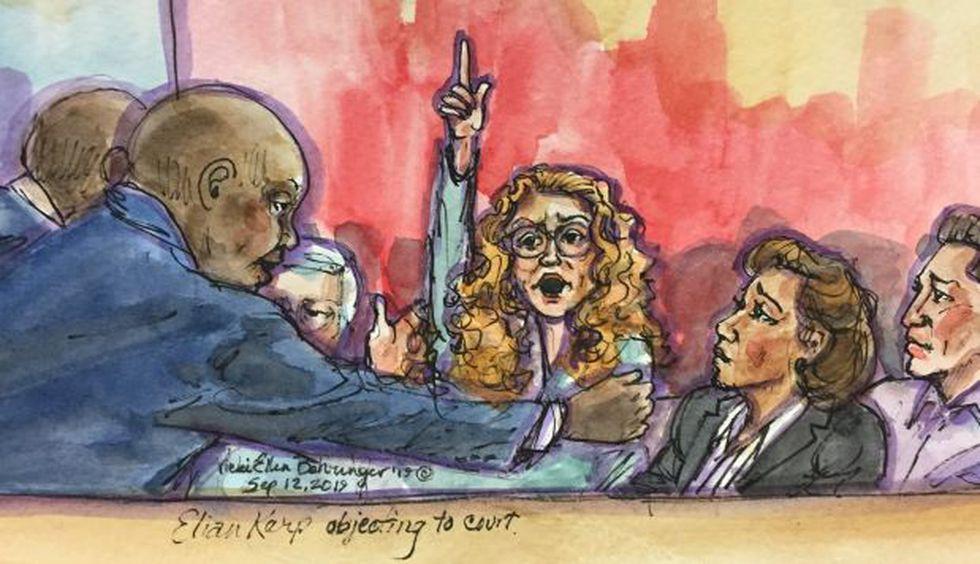 Eliane Karp: ilustradora graficó el exabrupto de la esposa de Alejandro Toledo. (Ilustración: Vicki Ellen Behringer/ Reuters)