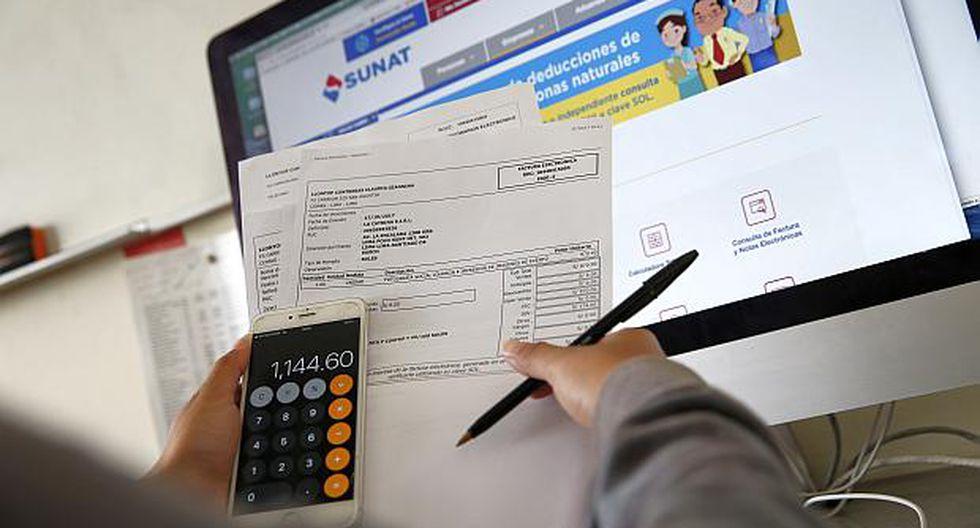 El usuario, según la Sunat, podrá solicitar el pago de la devolución mediante tres modalidades: abono en cuenta, orden de pago financiera y cheque. (Foto: USI)