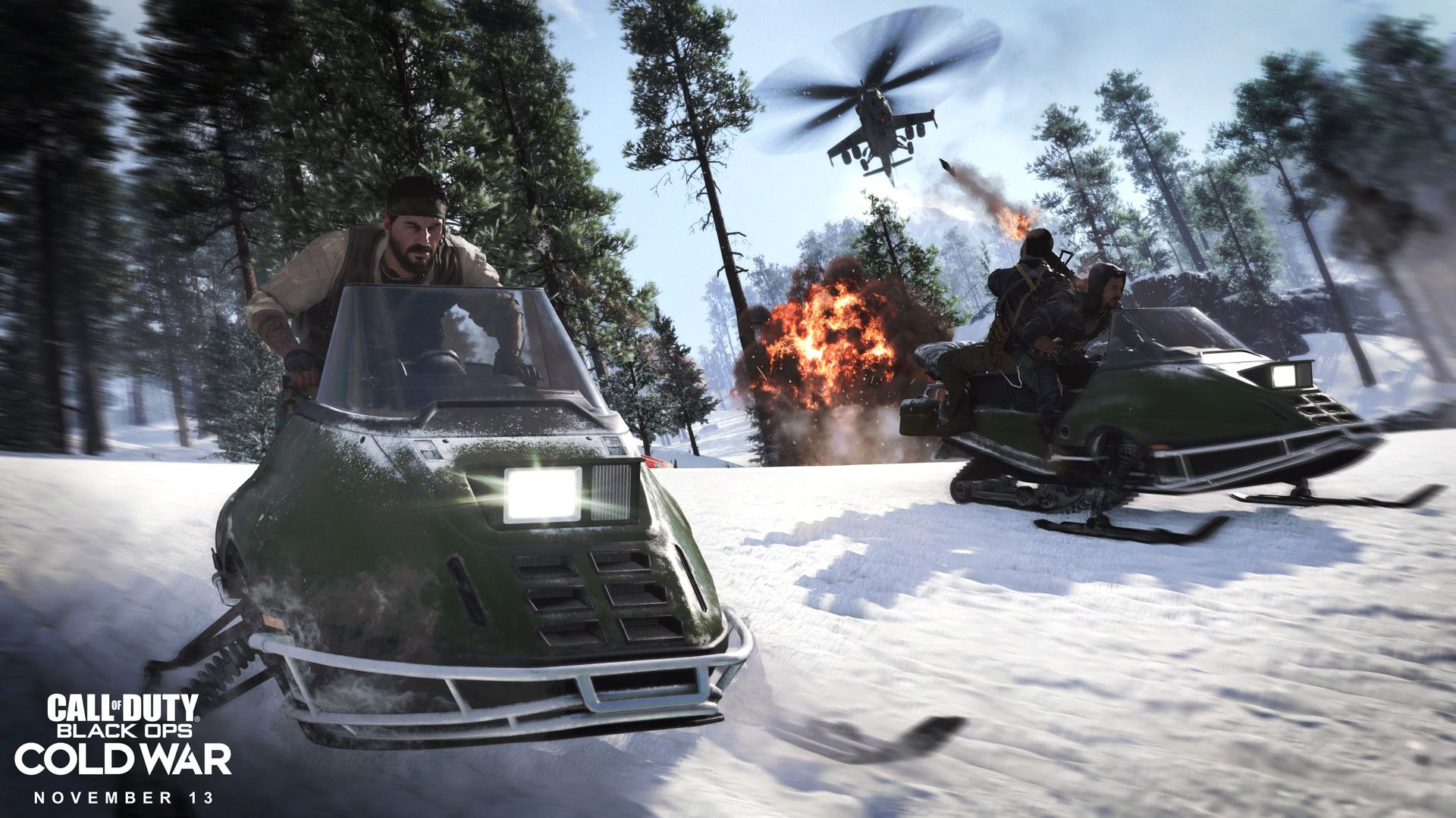 Call of Duty Black Ops Cold War. (Difusión)