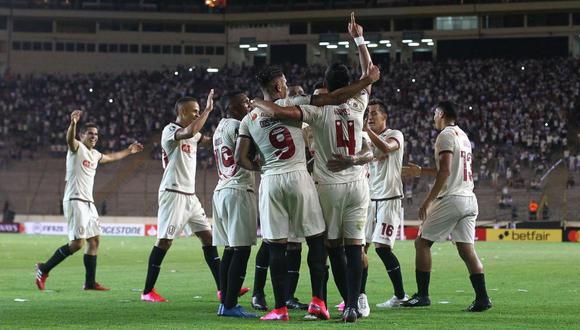 Universitario derrotó 1-0 a Carabobo y avanzó a la segunda fase de la Copa Libertadores (Foto: AFP)