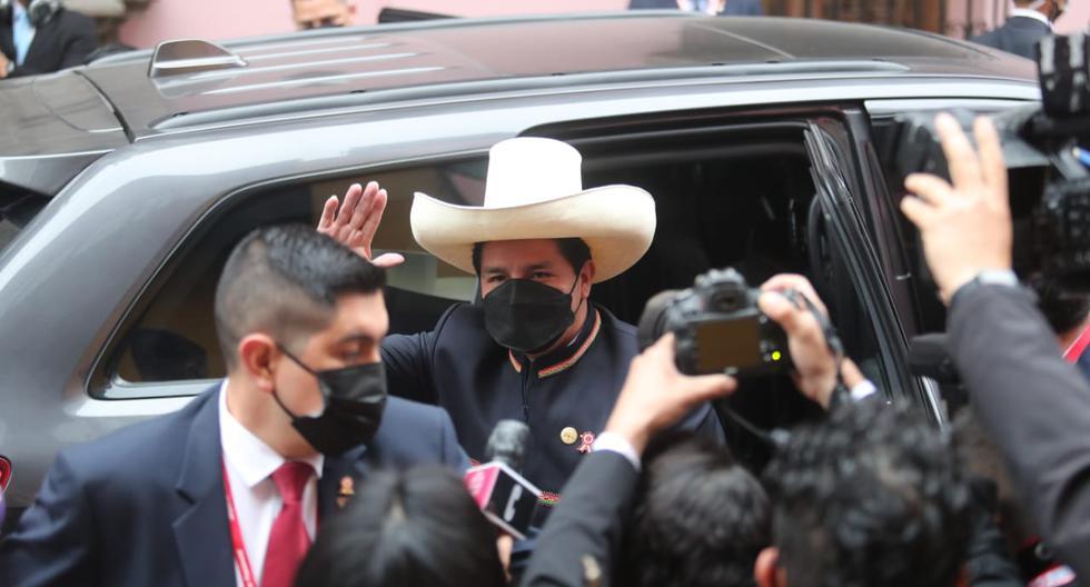 Pedro Castillo recibe al país en una crisis sanitaria y económica sin precedentes. (@photo.gec/Lino Chipana)