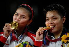 Tokio 2020: Los singulares regalos que han recibido dos atletas de Indonesia por ganar el oro en los Juegos Olímpicos
