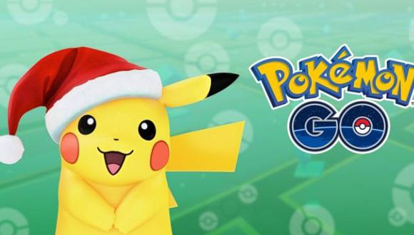 Un Pikachu festivo será la celebridad en esta Navidad. (Foto: Pokémon Go)