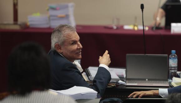 Luis Castañeda Lossio escuchó la versión de la fiscalía sobre aportes de OAS y Odebrecht. (Foto: Hugo Pérez | GEC)