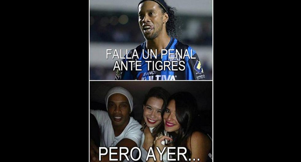 Los memes del debut de Ronaldinho en el Querétaro de México - 10