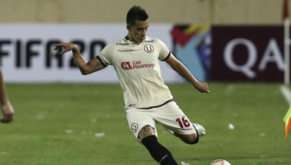 El lateral izquierdo espera volver a ser útil para Ángel Comizzo. (Foto: Universitario)
