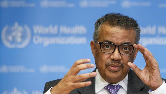 El director general de la Organización Mundial de la Salud (OMS), Tedros Adhanom Ghebreyesus. (EFE/ Salvatore Di Nolfi/Archivo).