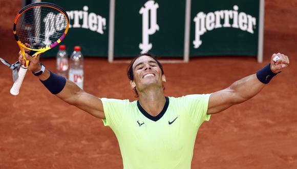 Rafael Nadal derrotó a Jannik Sinner en octavos de final del Roland Garros | Foto: REUTERS