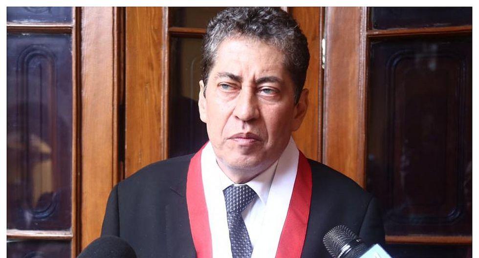 """Espinosa-Saldaña indicó que si en el análisis que el TC realizará del recurso de """"aclaración"""" se considera el voto del magistrado Ramos como voto singular, la decisión del organismo podría variar. (Foto: GEC)"""