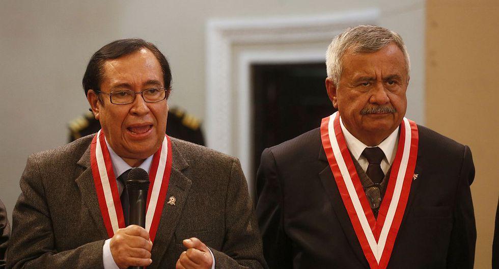 El Comité de Ética Judicial estará encabezado por Francisco Távara, quien ocupó de forma interina la presidencia del Poder Judicial antes de la elección de Víctor Prado. (Foto: USI)