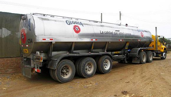 Gloria busca que no se detenga el acopio de leche por problemas en la Panamericana Sur. (Foto: El Comercio)