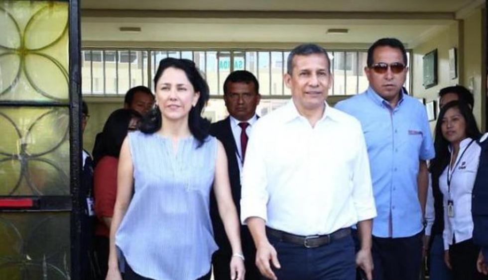 Humala y Heredia afrontan una acusación fiscal por presunto lavado de activos. (Foto: GEC)