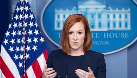 """La portavoz de la Casa Blanca, Jen Psaki, dijo que las personas en proceso de deportación, o que estén siendo procesadas, """"tendrán la oportunidad de presentar sus casos ante un juez de inmigración"""". (Foto:  SAUL LOEB / AFP)"""