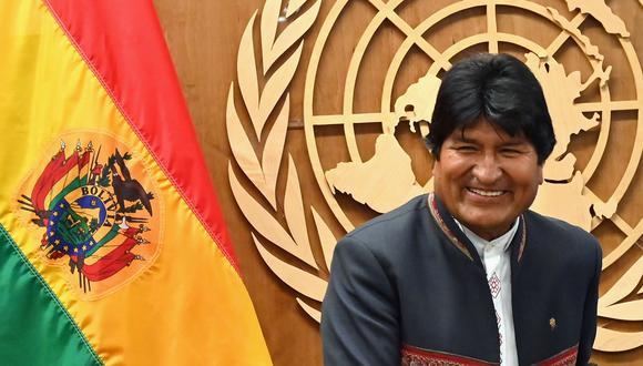 De ganar las elecciones presidenciales, Evo Morales gobernaría hasta el 2025 (Photo by Angela Weiss / AFP).