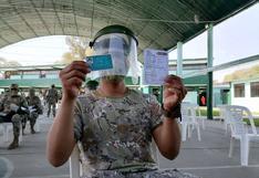 Piura: más de 2.500 miembros de las Fuerzas Armadas fueron inoculados con la segunda dosis de la vacuna contra el COVID-19