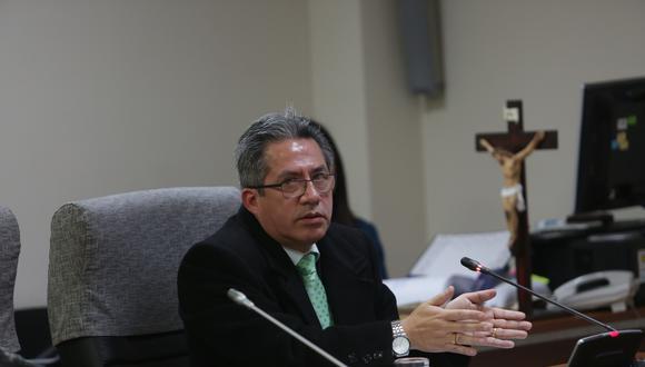 El juez supremo Aldo Figueroa Navarro quedó fuera del Poder Judicial. (Foto: GEC)