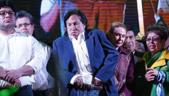 Debe responder ante la justicia peruana. Alejandro Toledo y Eliane Karp podrían afrontar un pedido de extradición de Estados Unidos por el caso Ecoteva. (Foto: GEC)