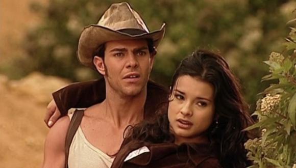 """Jimena Elizondo y Óscar Reyes fueron una de las parejas más queridas de""""Pasión de gavilanes"""" (Foto: Telemundo)"""