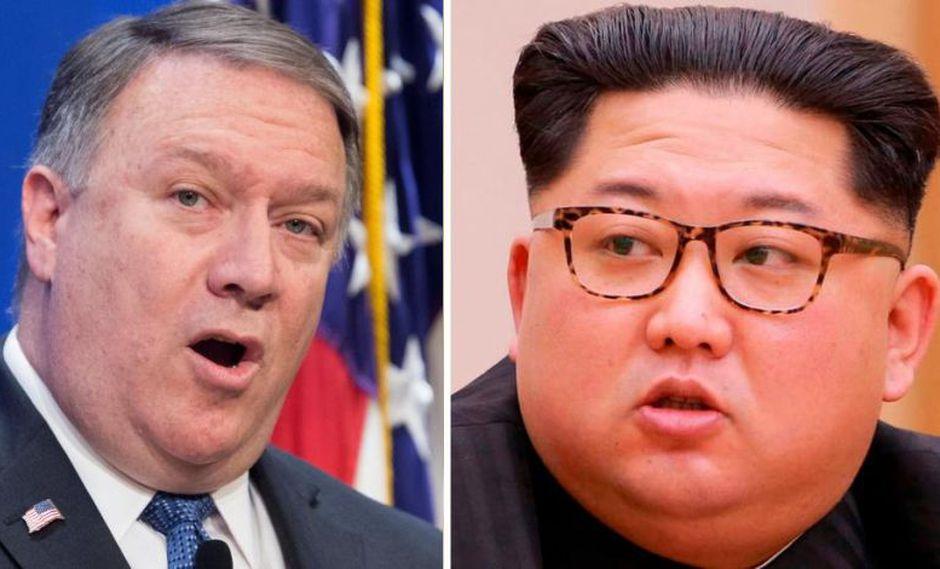 """Mike Pompeo dice que Corea del Norte es """"inconsistente"""" con la desnuclearización."""