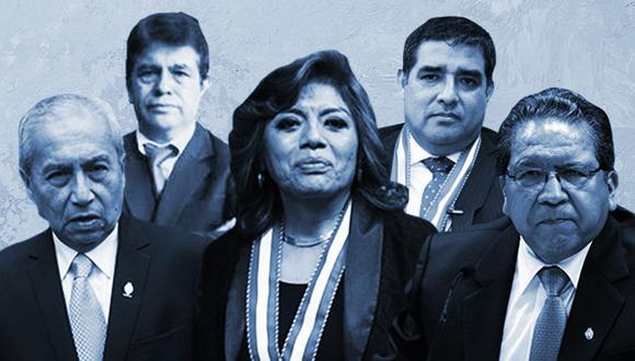 Cinco Fiscales Supremos conforman actualmente la Junta de Fiscales Supremos, máximo órgano dentro del Ministerio Público.