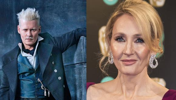 """J.K. Rowling revela porqué mantuvo a Johnny Depp en """"Fantastic Beasts"""""""