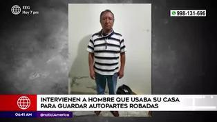 VES: detienen a hombre que guardaba autopartes robadas en su vivienda
