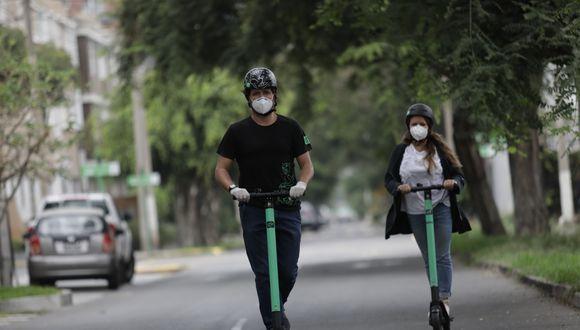 Como parte del gremio de micromovilidad, Grin suscribió la solicitud de priorizar el vehículo los scooter y bicicletas como medio de transporte seguro frente al COVID-19. Fotos: Anthony Niño de Guzman \ GEC