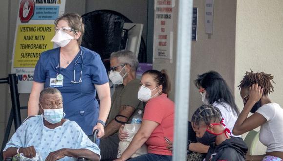 El récord diario anterior estaba en los 19.334 casos anunciados el 7 de enero de 2021, el peor mes de toda la pandemia en Florida, que actualmente es el epicentro de la enfermedad en EE.UU. (Foto: EFE/Cristóbal Herrera/Archivo).