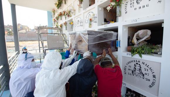 El número de contagios aumentó este sábado, informó el Minsa. (Foto: AFP/ José Sotomayor Jiménez)