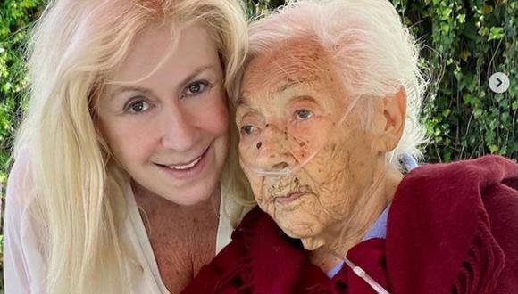 La actriz aseguró que no descansará hasta que los responsables del deterioro de la salud de su abuelita paguen todo el daño que le hicieron. (Foto: @laurazapataoficial / Instagram)