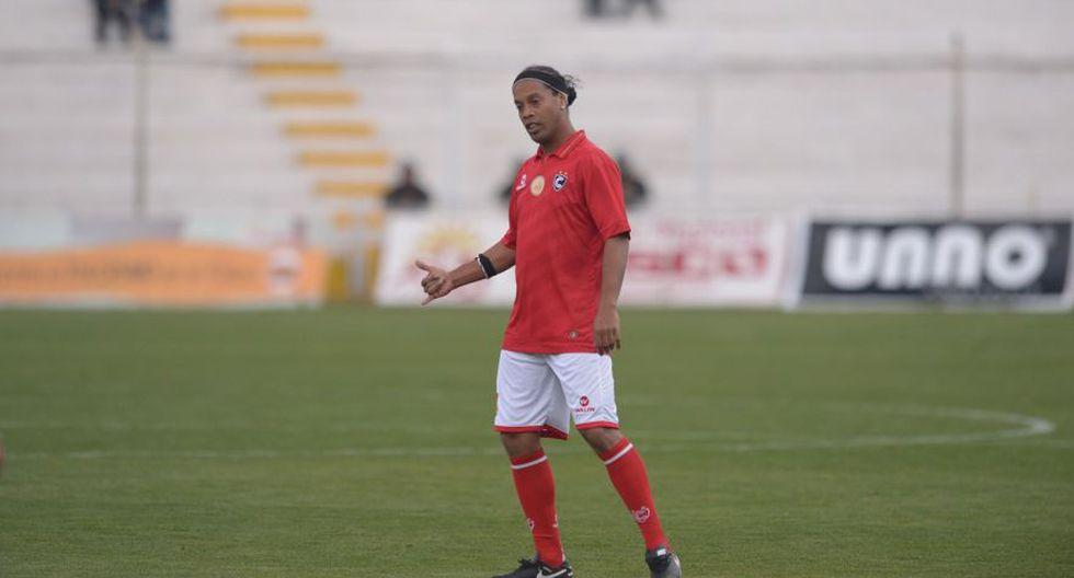 Ronaldinho: las postales del Cienciano contra Sporting Cristal - 19