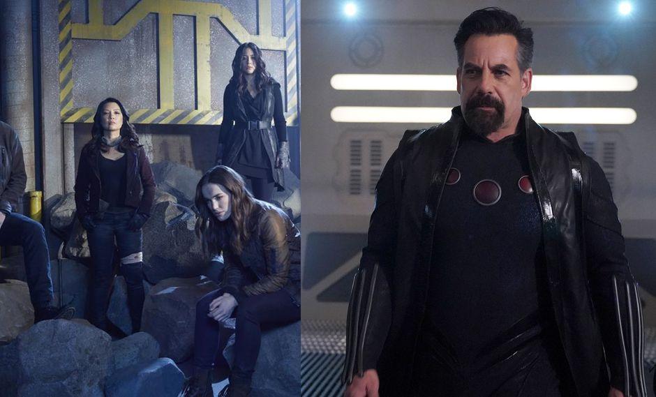 """""""Agents of SHIELD"""". Los agentes (izq.) deberán vencer a Graviton (der.) para evitar la destrucción de la Tierra. (Fotos: ABC)"""