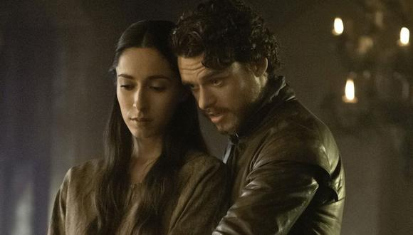 Robb Stark y Talisa se casaron en secreto y  ante los dioses de los siete (Foto: HBO)