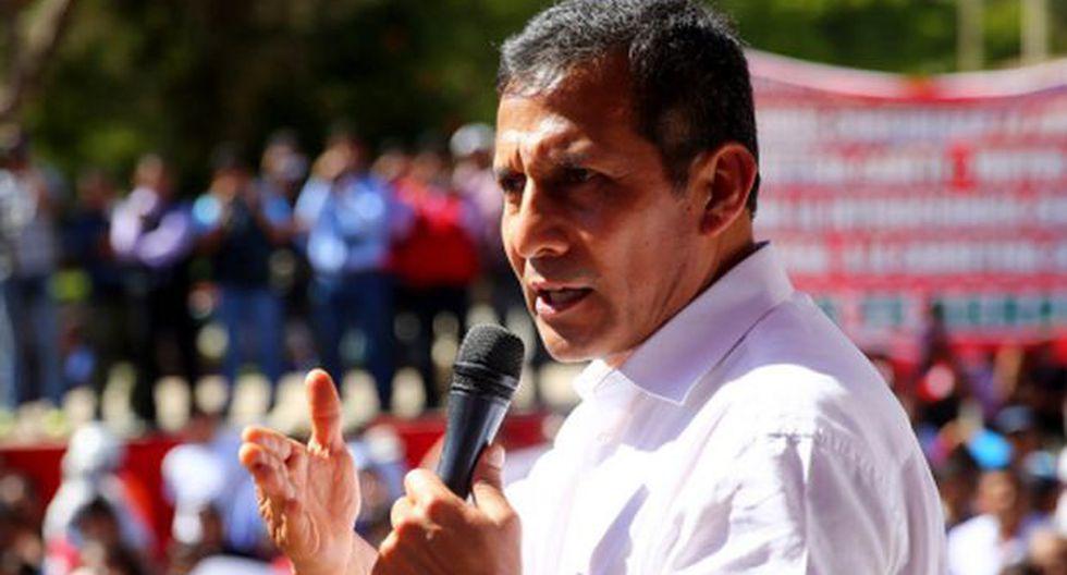El 59% de peruanos no cree que Humala combata la corrupción