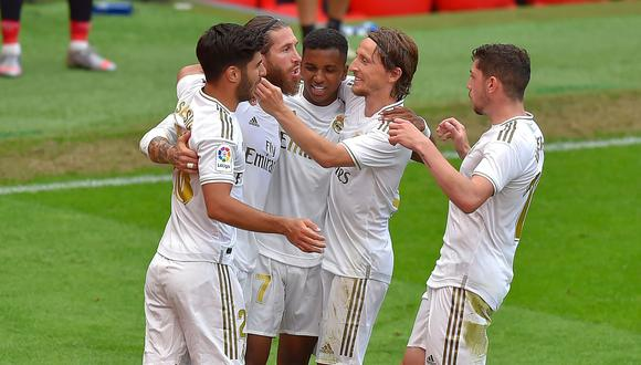 Los blancos llevan tres victorias seguidas por 1-0. (Foto: AFP)