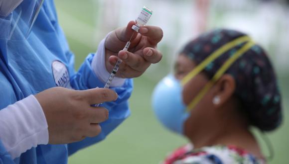 Pronto empezará la vacunación para los adultos mayores que están entre los 60 y 64 años. (Foto: Britanie Arroyo/ GEC)