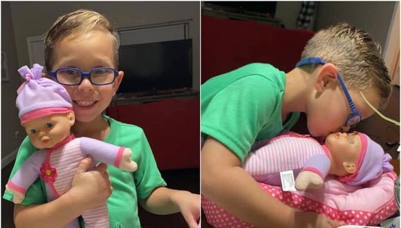 El pedido del menor surgió luego de que su hermana le negara jugar con sus muñecas. (Foto: Rocío Natalia / Facebook)