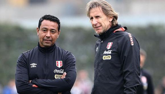 Nolberto Solano es asistente técnico de Ricardo Gareca en la selección peruana (GEC)