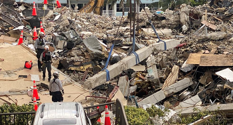 They plan to raise a monument on the Miami building collapse site