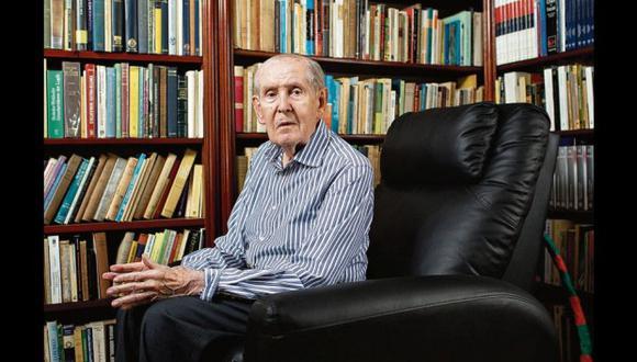 Falleció Francisco Miró Quesada Cantuarias. Foto: El Comercio