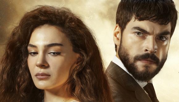 """""""Hercai"""" fue dirigido por Cem Karcı y Benal Tahiri, y tiene como protagonistas a Akın Akınözü y Ebru Şahin (Foto: atv)"""