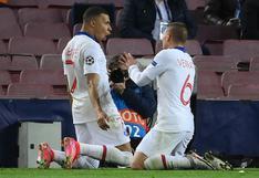 PSG, con triplete de Mbappé, goleó 1-4 al Barcelona en octavos de Champions League