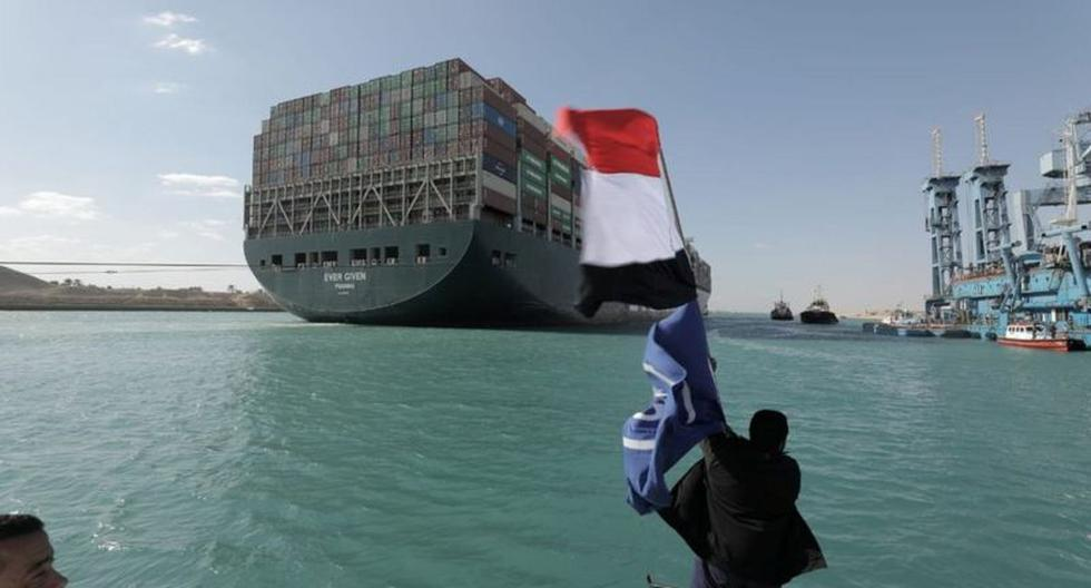 3 keys on how they unblocked the Ever Given in the Suez Canal