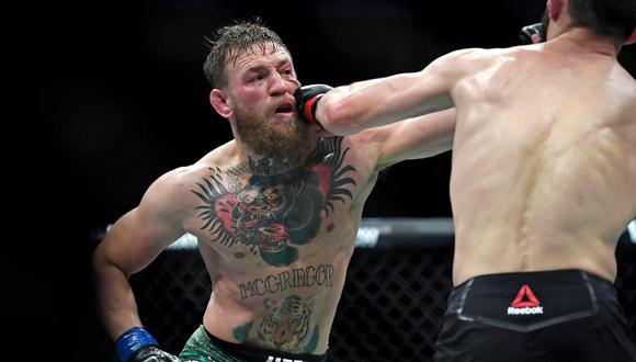 McGregor y su primera fotografía tras la derrota ante Khabib en UFC 229. (Foto: AFP)