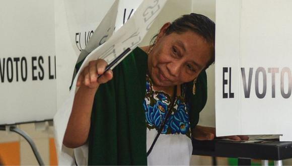 México vota este domingo en elecciones federales. (GETTY IMAGES).
