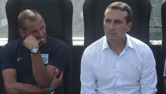 Guillermo Sanguinetti renunció a Alianza Lima