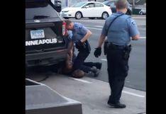 Minnesota denuncia a la policía de Minneapolis por la muerte de George Floyd