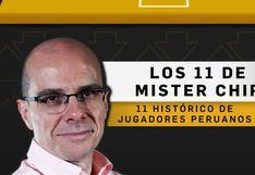 Con Pizarro, Cubillas y Chumpitaz: MisterChip y el once histórico de la selección peruana